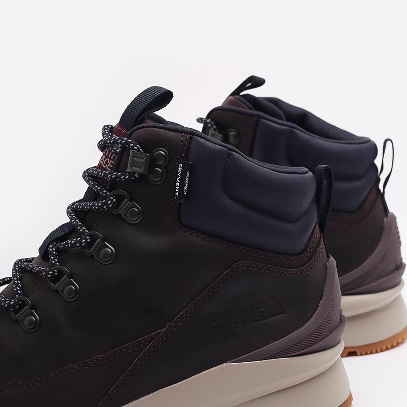 мужские бордовые  ботинки the north face back-to-berkeley mid wp TA4AZETG7 - цена, описание, фото 7