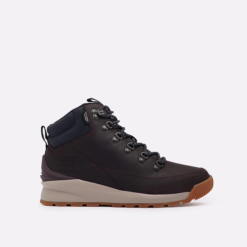 мужские бордовые  ботинки the north face back-to-berkeley mid wp TA4AZETG7 - цена, описание, фото 1