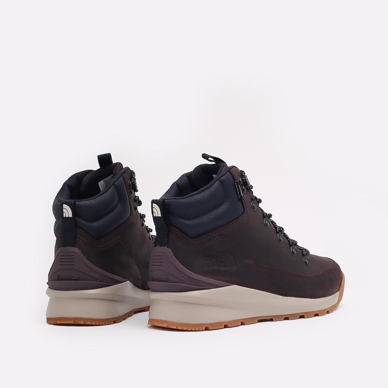 мужские бордовые  ботинки the north face back-to-berkeley mid wp TA4AZETG7 - цена, описание, фото 4