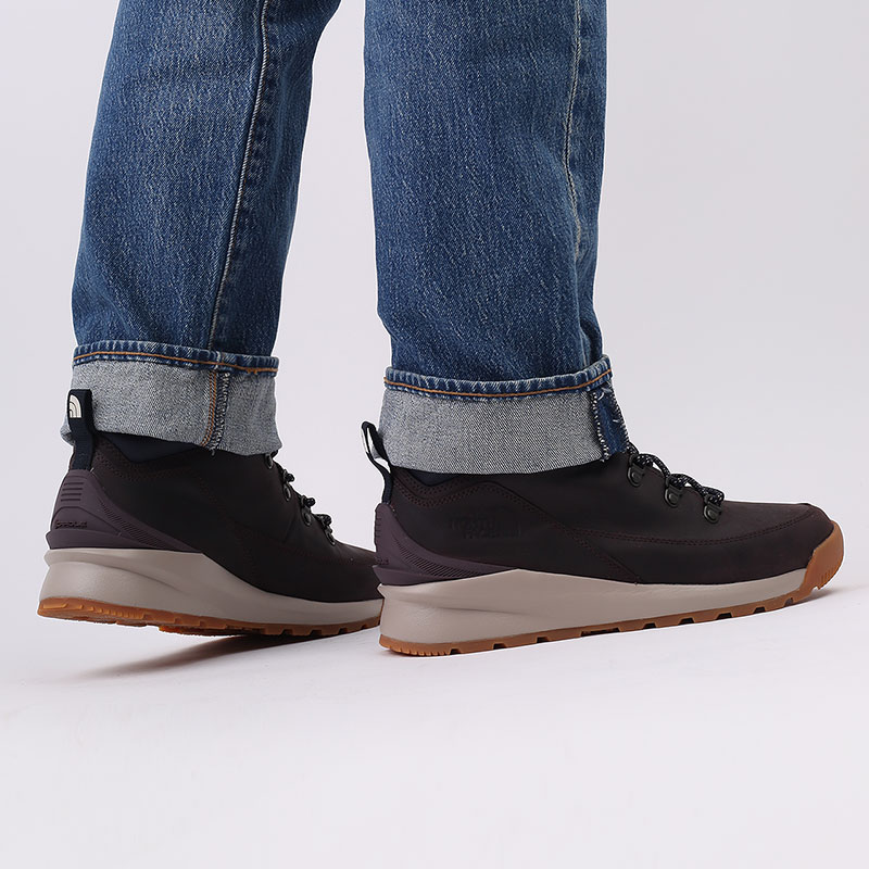 мужские бордовые  ботинки the north face back-to-berkeley mid wp TA4AZETG7 - цена, описание, фото 8