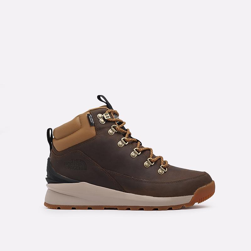 мужские коричневые  ботинки the north face back-to-berkeley mid wp TA4AZEYW2 - цена, описание, фото 1