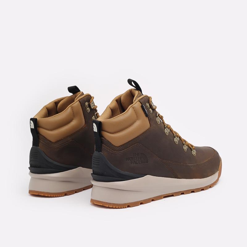 мужские коричневые  ботинки the north face back-to-berkeley mid wp TA4AZEYW2 - цена, описание, фото 4