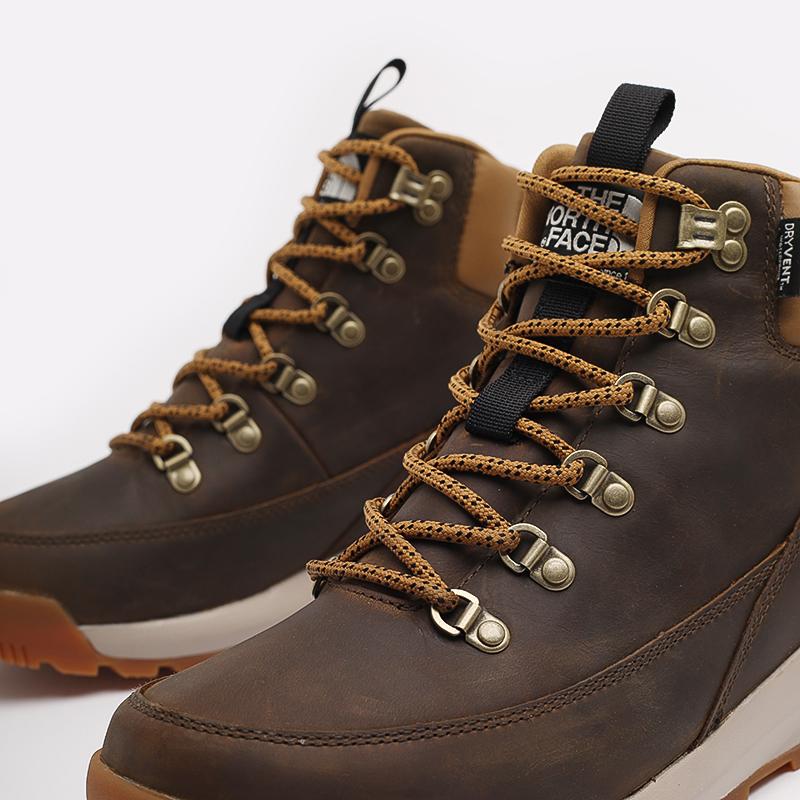 мужские коричневые  ботинки the north face back-to-berkeley mid wp TA4AZEYW2 - цена, описание, фото 5