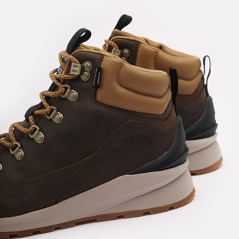 мужские коричневые  ботинки the north face back-to-berkeley mid wp TA4AZEYW2 - цена, описание, фото 6