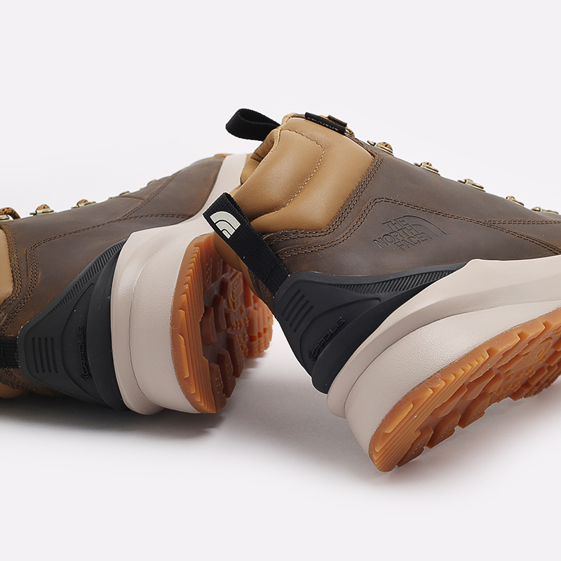 мужские коричневые  ботинки the north face back-to-berkeley mid wp TA4AZEYW2 - цена, описание, фото 7