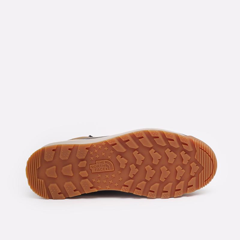 мужские коричневые  ботинки the north face back-to-berkeley mid wp TA4AZEYW2 - цена, описание, фото 3