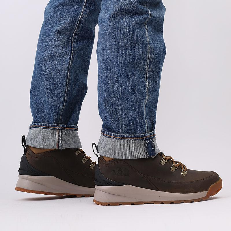 мужские коричневые  ботинки the north face back-to-berkeley mid wp TA4AZEYW2 - цена, описание, фото 8