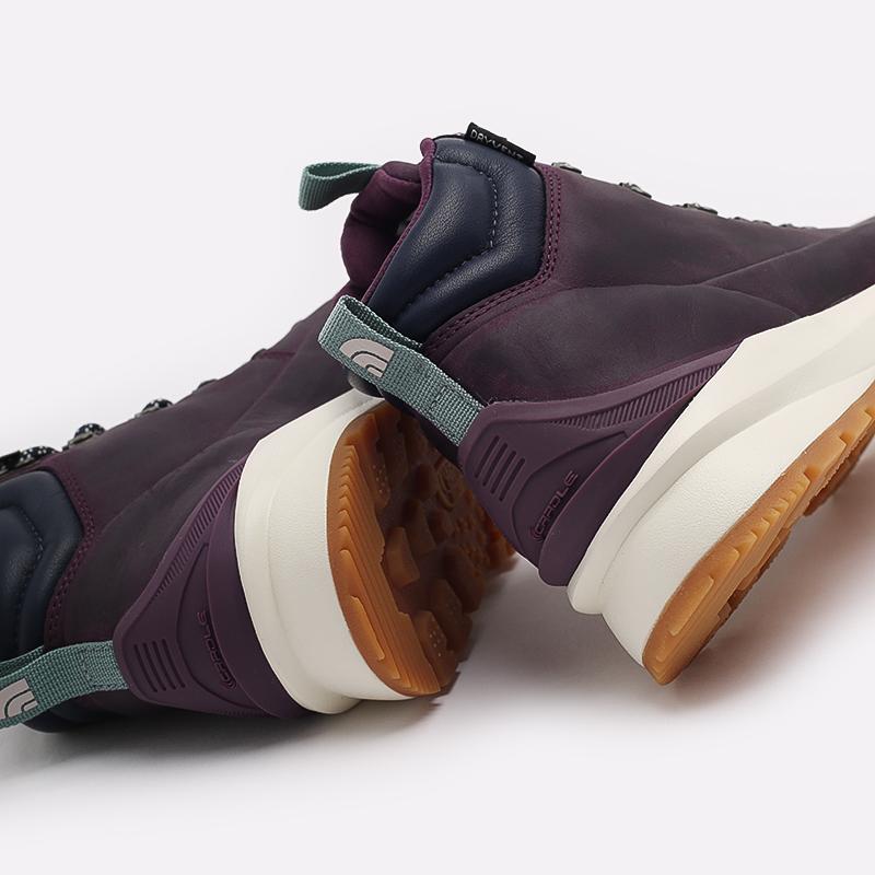 женские фиолетовые  ботинки the north face back-to-berkeley mid wp TA4AZFV59 - цена, описание, фото 6