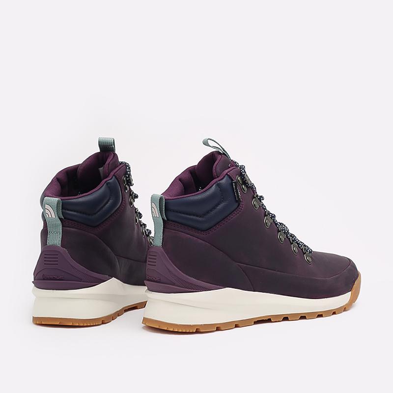 женские фиолетовые  ботинки the north face back-to-berkeley mid wp TA4AZFV59 - цена, описание, фото 4