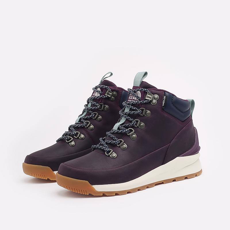 женские фиолетовые  ботинки the north face back-to-berkeley mid wp TA4AZFV59 - цена, описание, фото 2