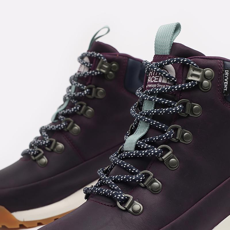 женские фиолетовые  ботинки the north face back-to-berkeley mid wp TA4AZFV59 - цена, описание, фото 5