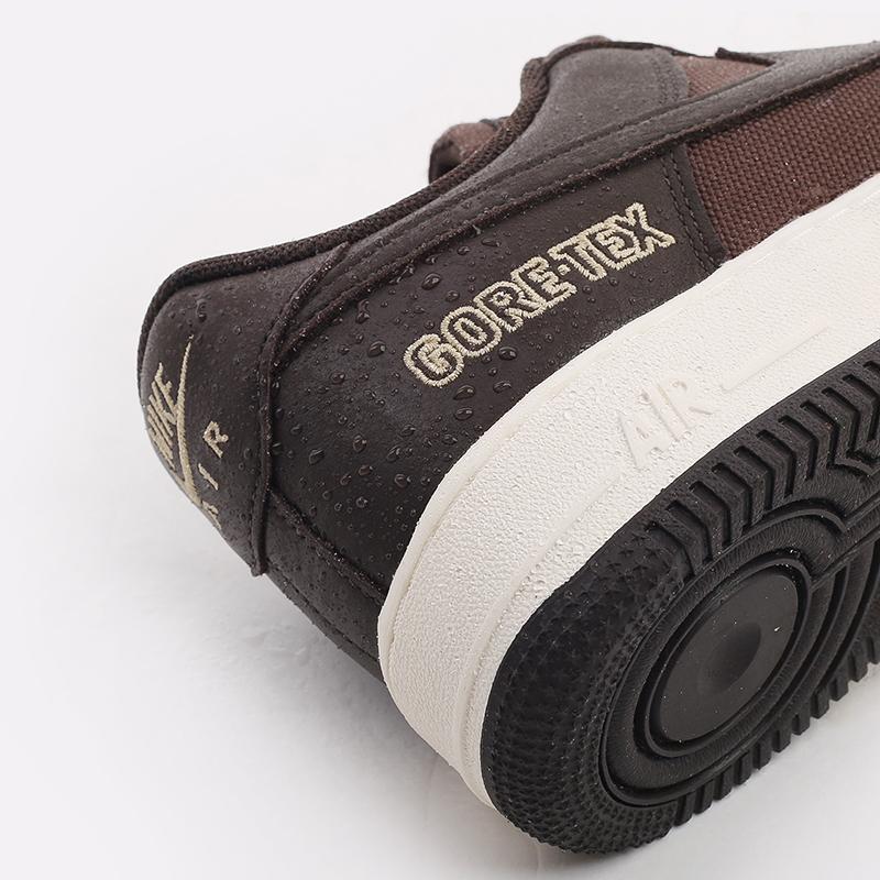 мужские коричневые  кроссовки nike air force 1 gtx CT2858-201 - цена, описание, фото 6