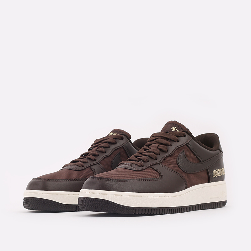 мужские коричневые  кроссовки nike air force 1 gtx CT2858-201 - цена, описание, фото 2