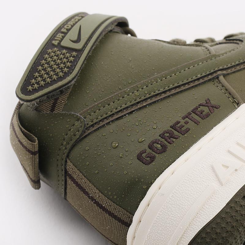 мужские зелёные  кроссовки nike air force 1 gtx boot CT2815-201 - цена, описание, фото 9
