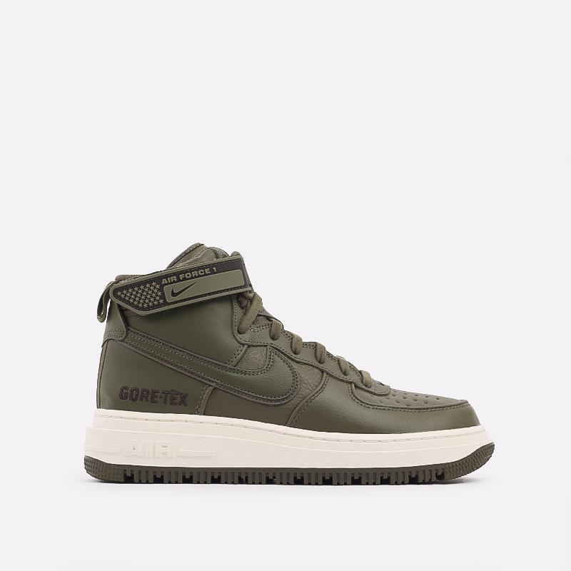 мужские зелёные  кроссовки nike air force 1 gtx boot CT2815-201 - цена, описание, фото 1