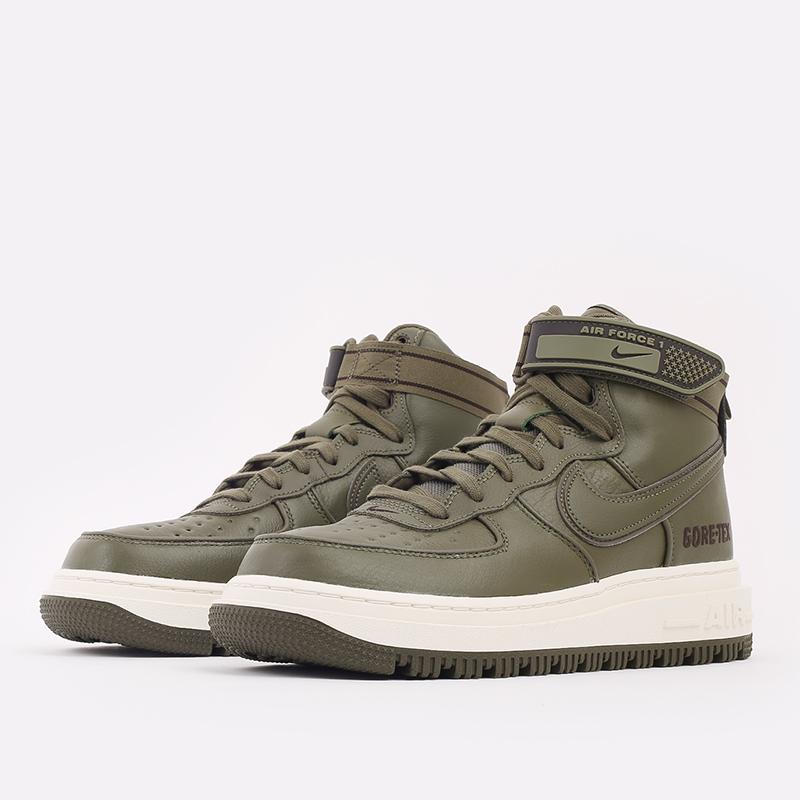 мужские зелёные  кроссовки nike air force 1 gtx boot CT2815-201 - цена, описание, фото 2