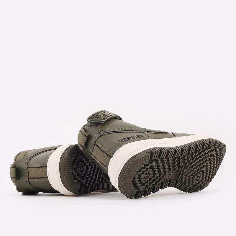 мужские зелёные  кроссовки nike air force 1 gtx boot CT2815-201 - цена, описание, фото 4