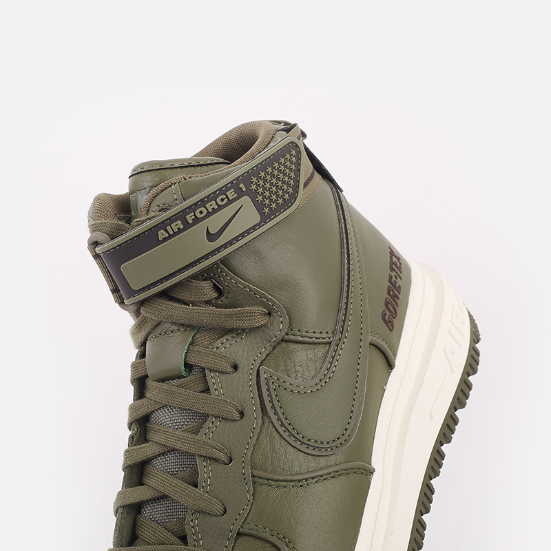 мужские зелёные  кроссовки nike air force 1 gtx boot CT2815-201 - цена, описание, фото 5