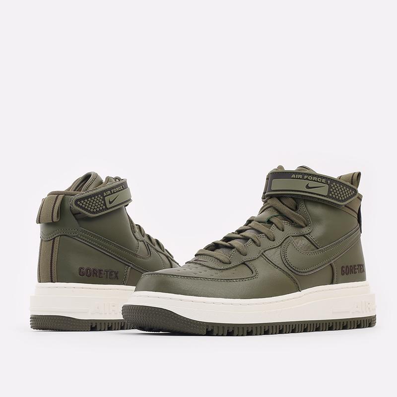 мужские зелёные  кроссовки nike air force 1 gtx boot CT2815-201 - цена, описание, фото 8