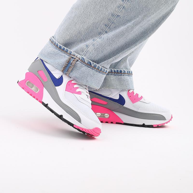 женские белые  кроссовки nike air max 90 iii CT1887-100 - цена, описание, фото 8