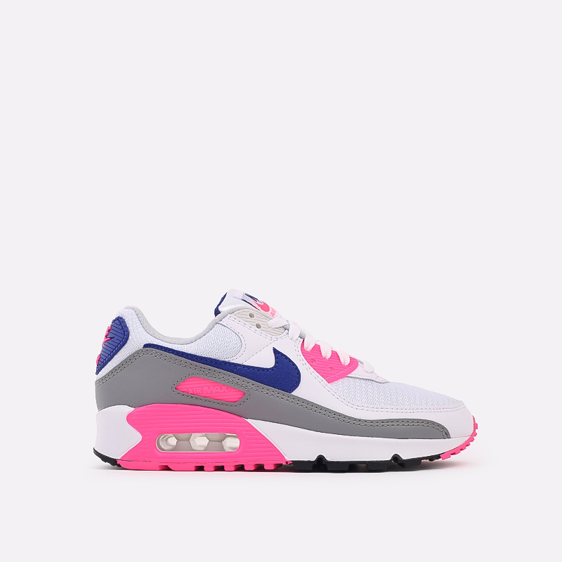 женские белые  кроссовки nike air max 90 iii CT1887-100 - цена, описание, фото 1