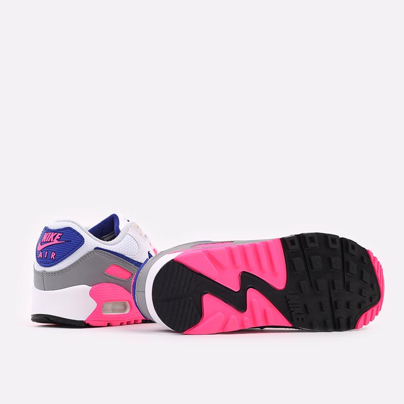 женские белые  кроссовки nike air max 90 iii CT1887-100 - цена, описание, фото 3
