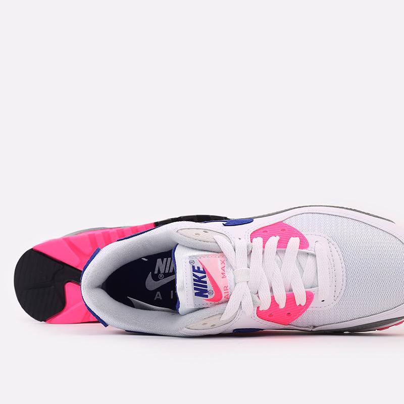 женские белые  кроссовки nike air max 90 iii CT1887-100 - цена, описание, фото 7