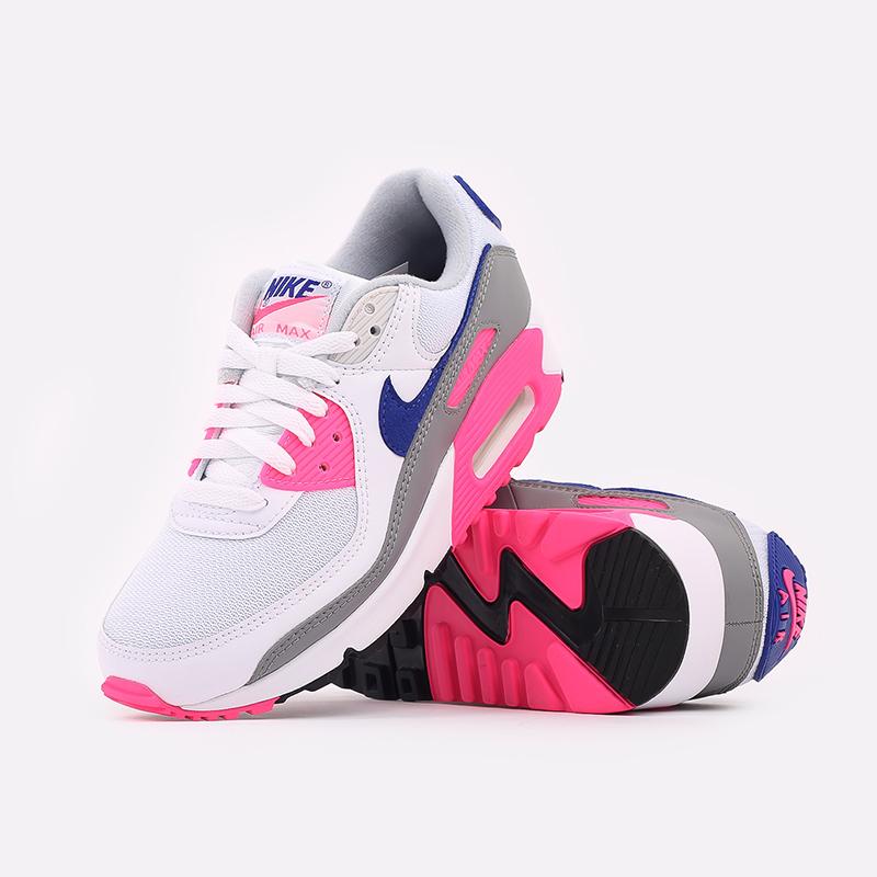 женские белые  кроссовки nike air max 90 iii CT1887-100 - цена, описание, фото 5