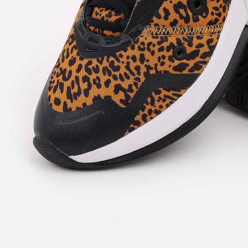 женские чёрные, оранжевые  кроссовки nike wmns air max up DC9206-700 - цена, описание, фото 6
