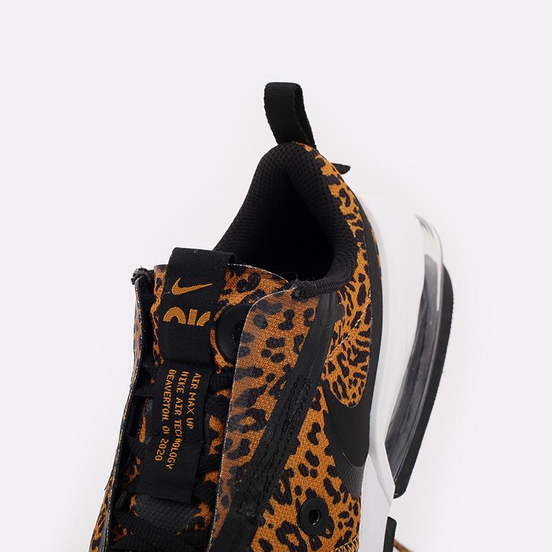 женские чёрные, оранжевые  кроссовки nike wmns air max up DC9206-700 - цена, описание, фото 7