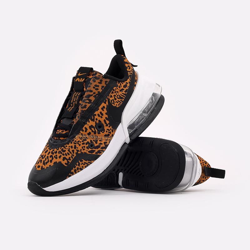 женские чёрные, оранжевые  кроссовки nike wmns air max up DC9206-700 - цена, описание, фото 5