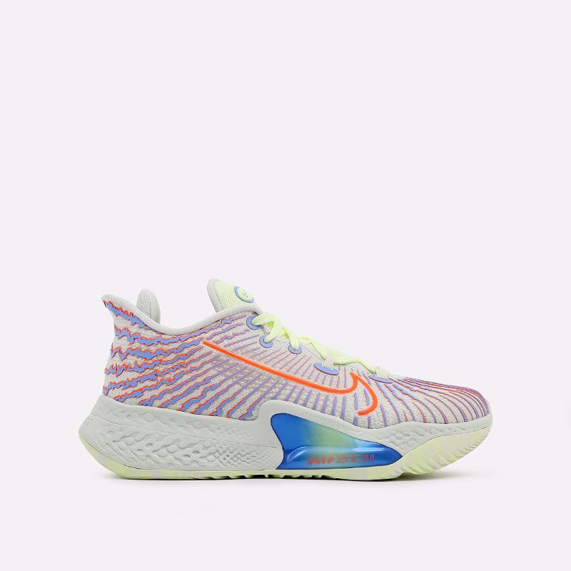 мужские разноцветные  кроссовки nike air zoom bb nxt CK5707-002 - цена, описание, фото 1