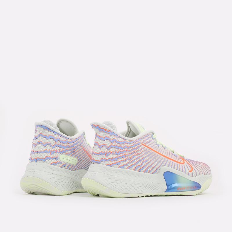мужские разноцветные  кроссовки nike air zoom bb nxt CK5707-002 - цена, описание, фото 4