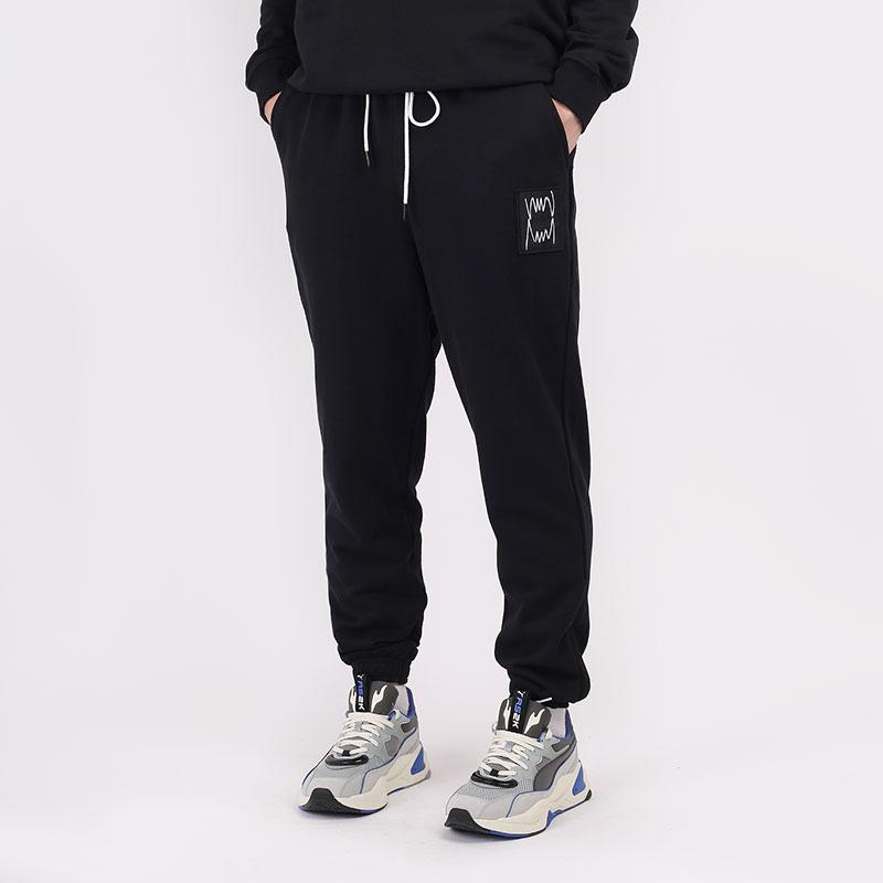 мужские черные брюки PUMA Pivot Terry Pant 53032201 - цена, описание, фото 1