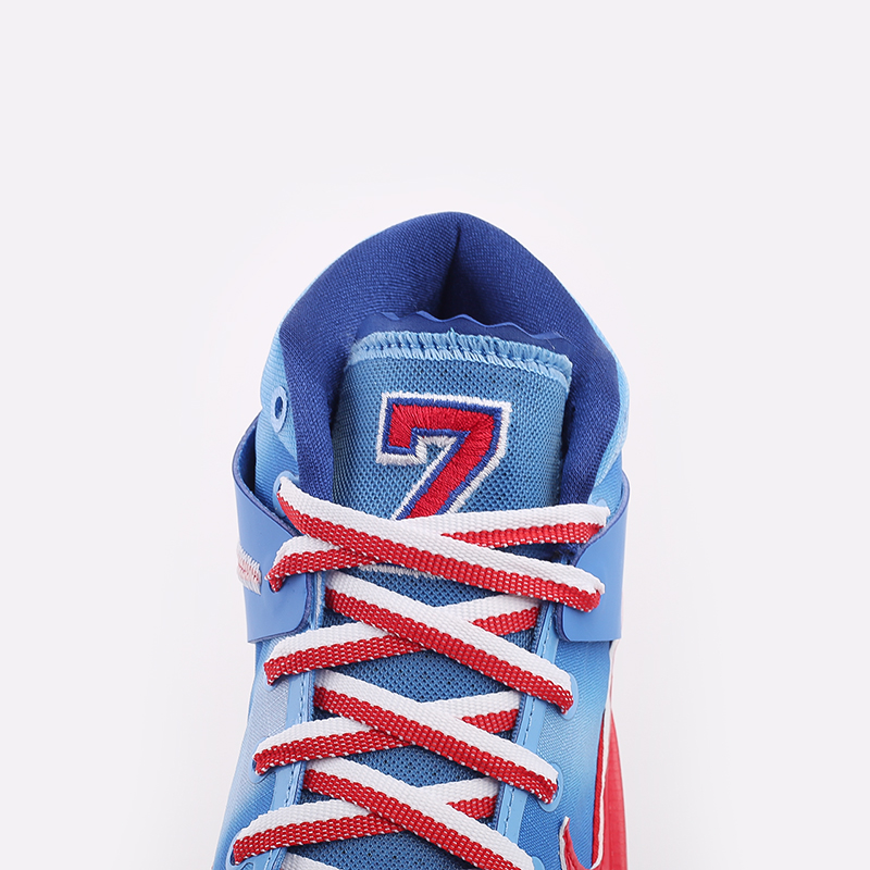 синие, красные, белые  кроссовки nike kd13 DC0009-400 - цена, описание, фото 7