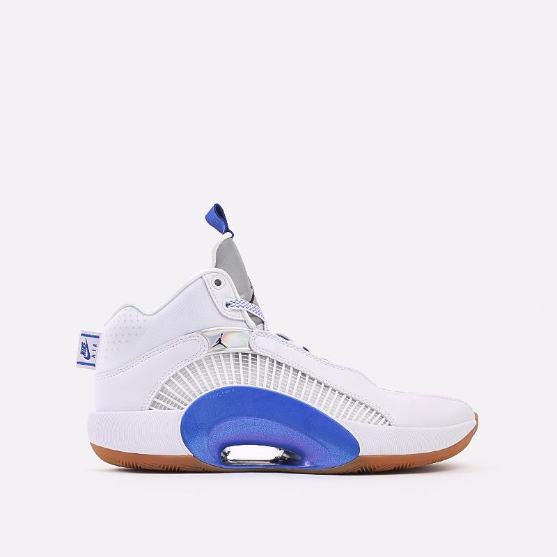 мужские белые  кроссовки jordan xxxv sh CZ5657-100 - цена, описание, фото 1