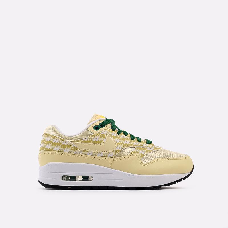 жёлтые  кроссовки nike air max 1 prm CJ0609-700 - цена, описание, фото 1