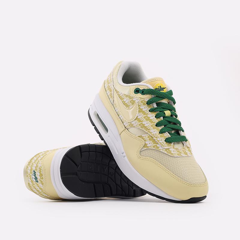 жёлтые  кроссовки nike air max 1 prm CJ0609-700 - цена, описание, фото 6