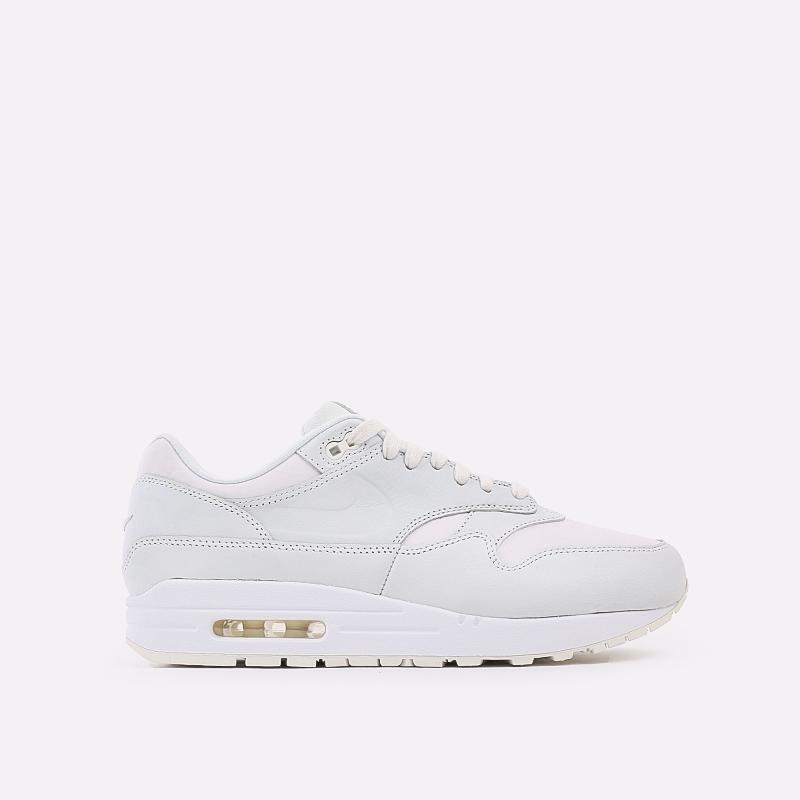 мужские белые  кроссовки nike air max 1 DH5493-100 - цена, описание, фото 1
