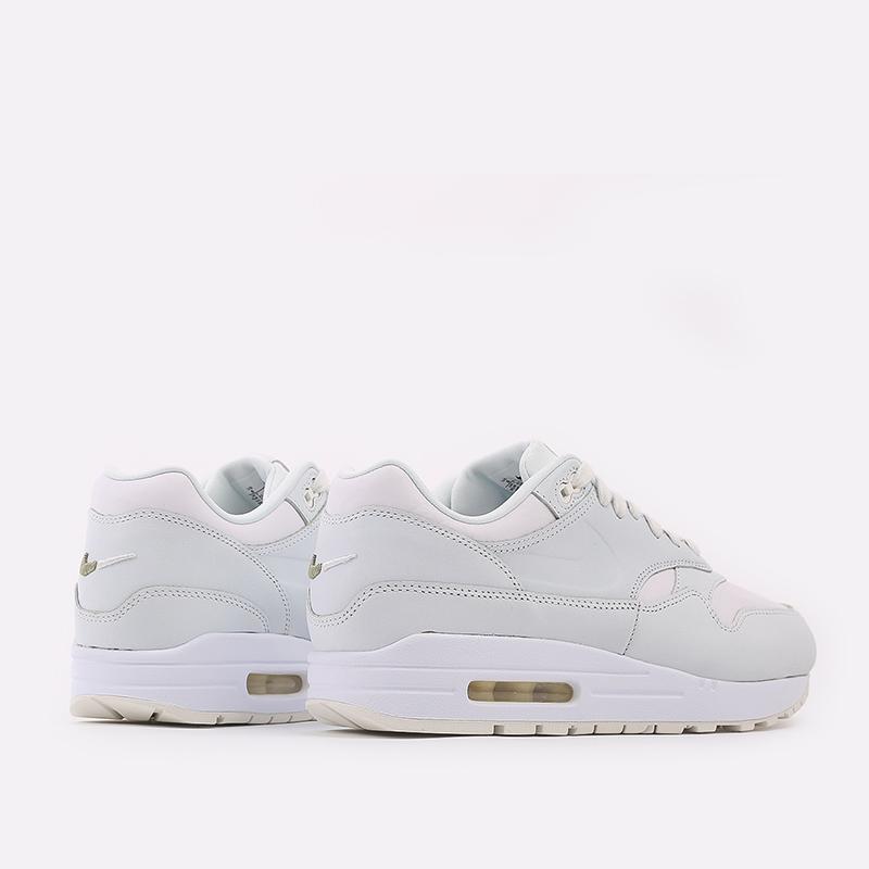 мужские белые  кроссовки nike air max 1 DH5493-100 - цена, описание, фото 4