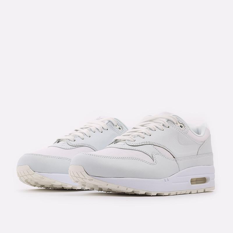 мужские белые  кроссовки nike air max 1 DH5493-100 - цена, описание, фото 2