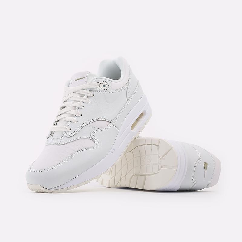 мужские белые  кроссовки nike air max 1 DH5493-100 - цена, описание, фото 5