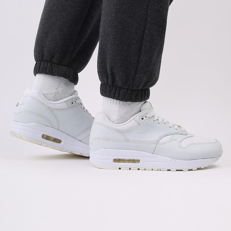 мужские белые  кроссовки nike air max 1 DH5493-100 - цена, описание, фото 9