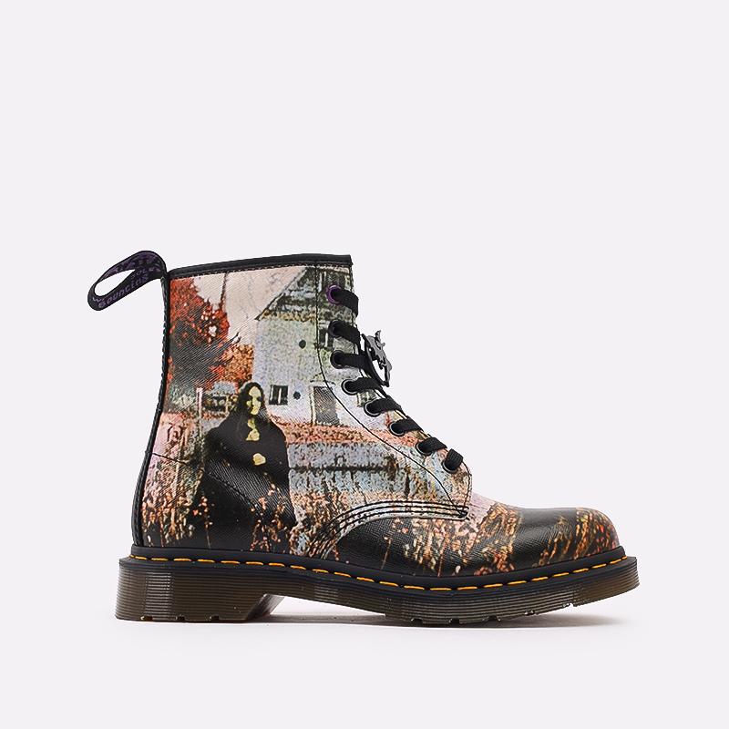 бежевые  ботинки dr. martens 1460 x black sabbath 26315102 - цена, описание, фото 1