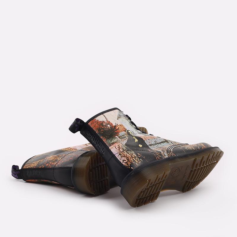 бежевые  ботинки dr. martens 1460 x black sabbath 26315102 - цена, описание, фото 3