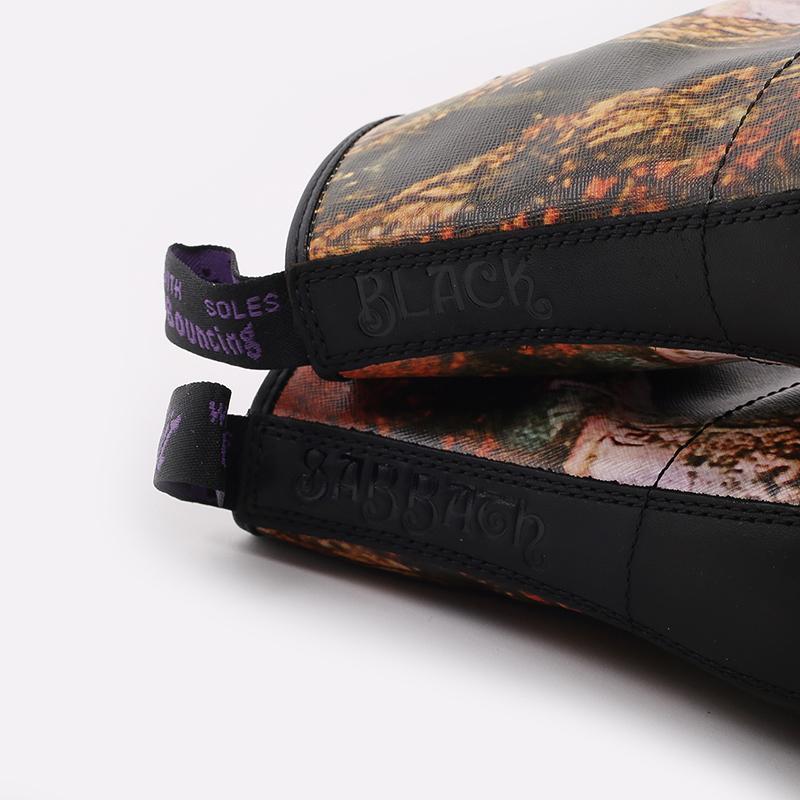 бежевые  ботинки dr. martens 1460 x black sabbath 26315102 - цена, описание, фото 8