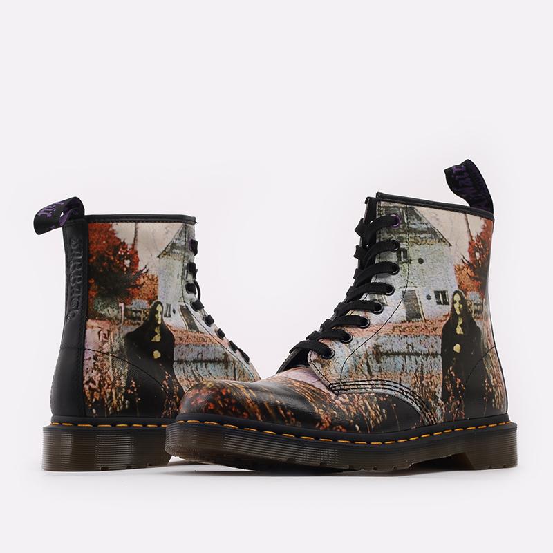 бежевые  ботинки dr. martens 1460 x black sabbath 26315102 - цена, описание, фото 5