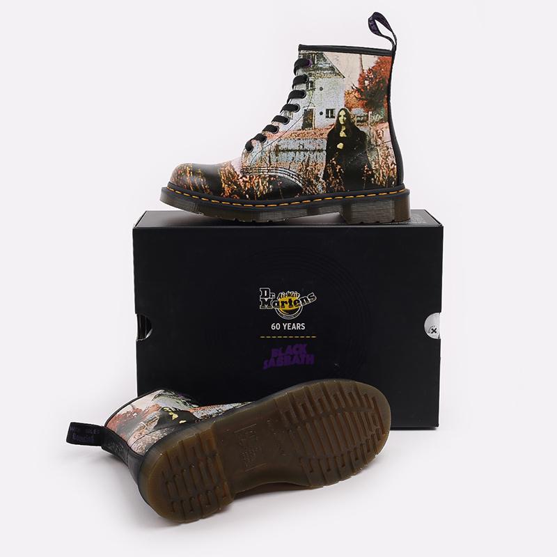 бежевые  ботинки dr. martens 1460 x black sabbath 26315102 - цена, описание, фото 4