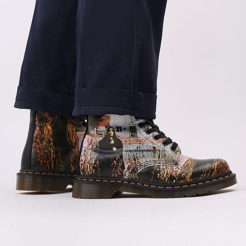 бежевые  ботинки dr. martens 1460 x black sabbath 26315102 - цена, описание, фото 9