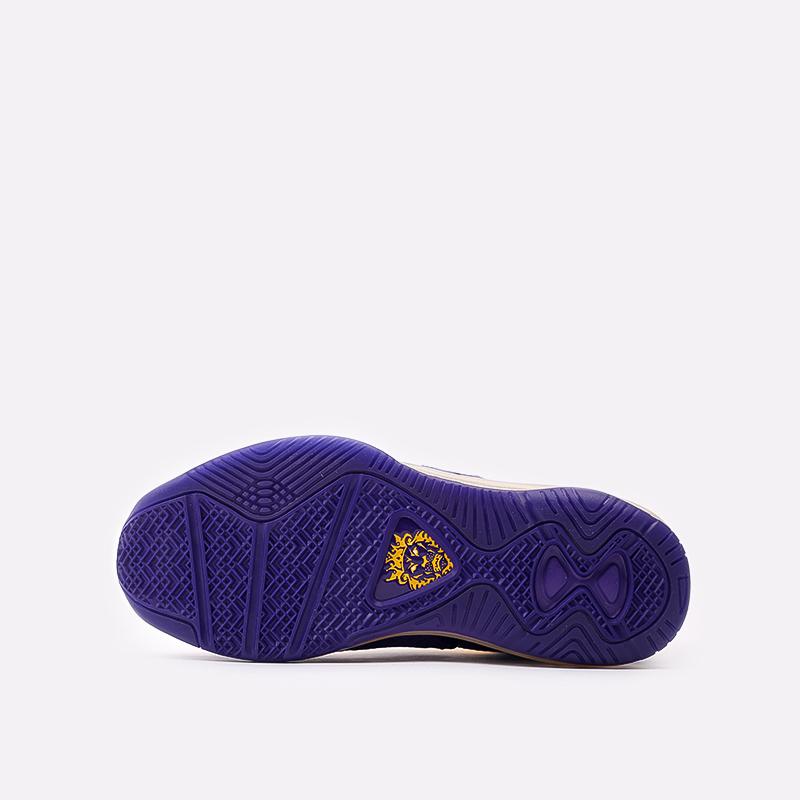 мужские фиолетовые, жёлтые  кроссовки nike lebron viii qs DC8380-500 - цена, описание, фото 5